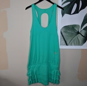 Adidas x Stella Mccartney Sea Green Tennis Dress